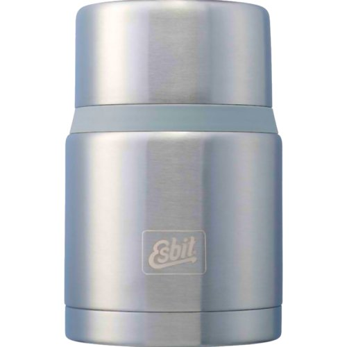 Esbit Stainless Steel Food Jug with Spoon 750 ml - Silver (Esbit FJ750SP-BS)