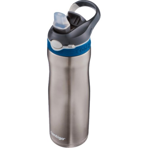 Contigo Ashland Chill Autospout Water Bottle with Lock - 590 ml (Stainless Steel) (Contigo 0554)