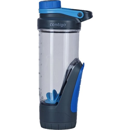 Contigo Shake and Go Fit Kangaroo Shaker Bottle with Gym Storage - 720 ml (Contigo 0766)