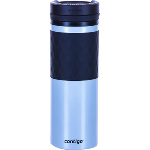 Contigo Twistseal Glaze Ceramic Coated Travel Mug - 470 ml (Silver) (Contigo 1000-0774)