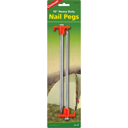Coghlan's LED 25 cm Nail Pegs (Pack of 2) (Coghlan's 1410)