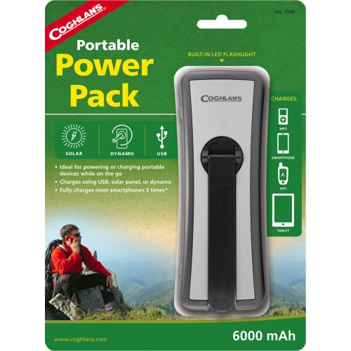 Coghlan's 6000 mAh Portable Power Pack with LED Flashlight (Coghlan's 1560)