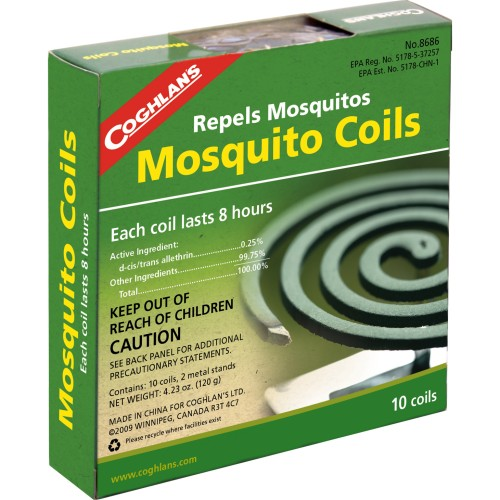 Coghlan's Mosquito Coils (Pack of 10) (Coghlans 8686)