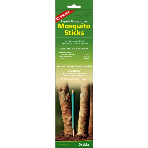 Coghlan's Mosquito Repellent Sticks (Pack of 5) (Coghlan's 0111)