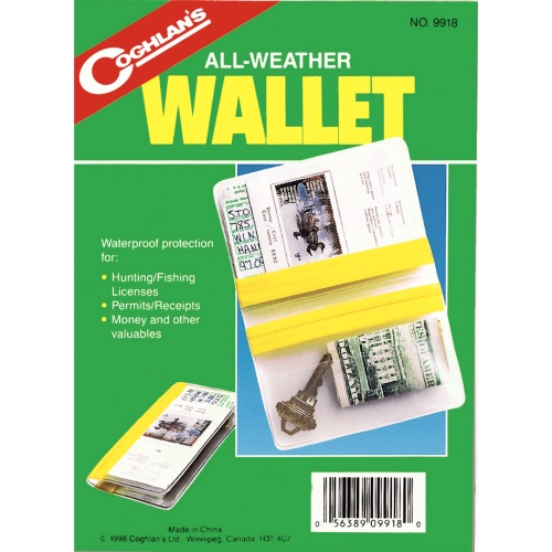 Coghlan's All Weather Wallet (Coghlan's 9918)
