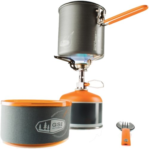 GSI Outdoors Pinnacle Soloist Complete Cookset and Stove (GSI 50161)