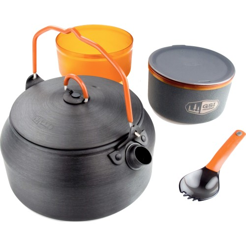 GSI Outdoors Halulite Ketalist Ultralight Backpacking Kettle Set (GSI 50163)