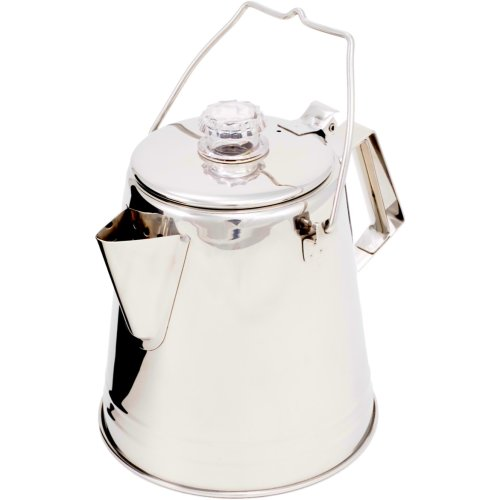 GSI Outdoors Stainless Steel Campfire Coffee Maker (1.1 Litre) (GSI 65008)