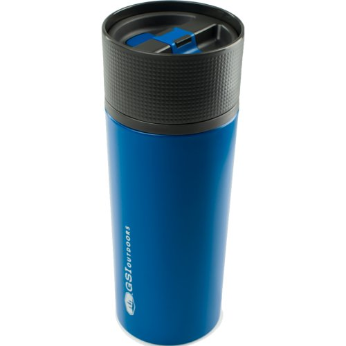 GSI Outdoors Glacier Stainless Commuter Mug - Blue (503 ml) (GSI 67312)