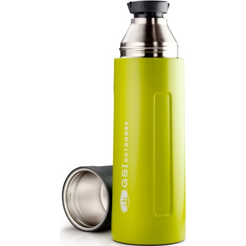 GSI Outdoors Glacier Stainless Vacuum Bottle - Green (1000 ml) (GSI 67463)