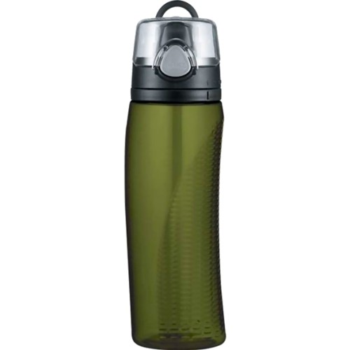 Thermos Intak Hydration Bottle with Meter - Olive Green (710 ml) (Thermos 010953)