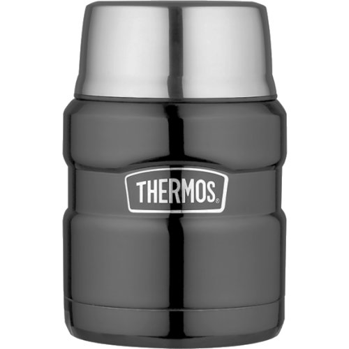 Thermos Stainless Steel Food Flask - Gun Metal (470 ml) (Thermos 105053)