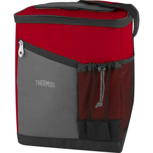 Thermos Essentials Medium Insulated Cool Bag - 12 Can (Burgundy) (Thermos 152687)
