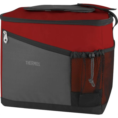 Thermos Essentials Family Insulated Cool Bag - 24 Can (Burgundy) (Thermos 152715)