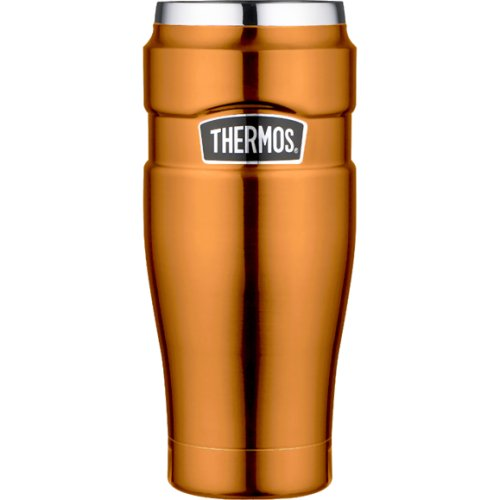 Thermos Stainless Steel King Travel Tumbler - Copper (470 ml) (Thermos 170271)
