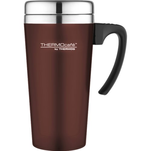 Thermos Thermocafe Soft Touch Travel Mug - 420 ml (Burgundy) (Thermos 170829)