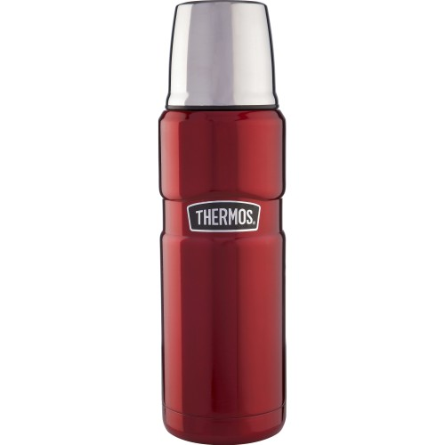 Thermos Stainless Steel King Flask - Red (470 ml) (Thermos 184804)