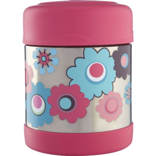 Thermos FUNtainer Food Jar - Pink Floral (290 ml) (Thermos 186394)