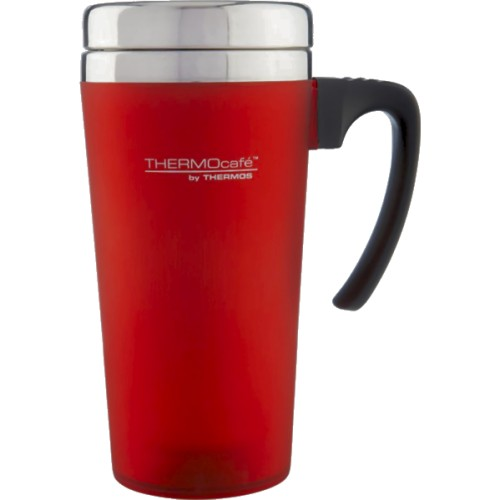 Thermos Thermocafe Zest Travel Mug - Red (420 ml) (Thermos 187122)