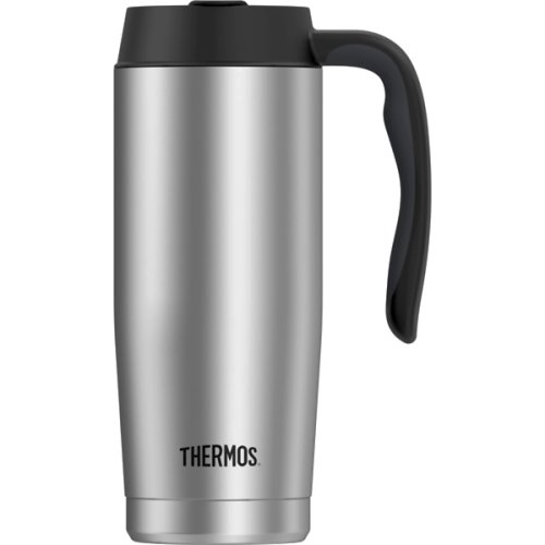 Thermos Performance Stainless Steel Travel Mug (470 ml) - Silver (Thermos 187437)