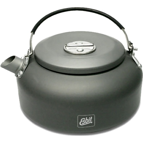 Esbit Hard Anodised Aluminium Kettle (600 ml) (Esbit WK600HA)