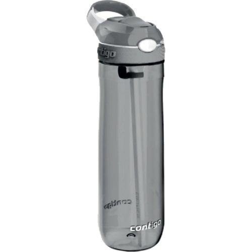 Contigo Ashland Autospout Water Bottle with Lock - 720 ml (Smoke) (Contigo 1000-0457)