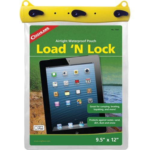 Coghlan's Load 'n Lock Airtight Waterproof Pouch - Large (Coghlans 1354)