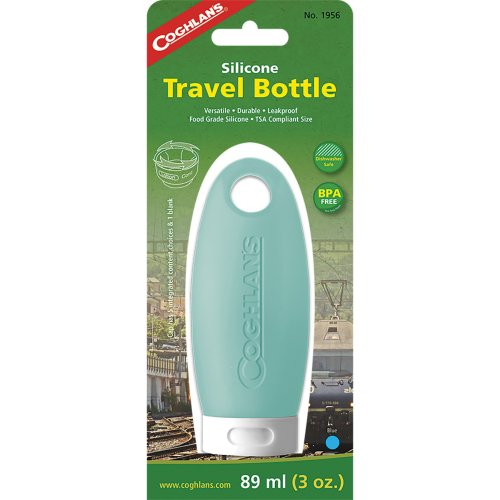 Coghlan's Silicone Travel Bottle - 89 ml (Blue) (Coghlan's 1956)