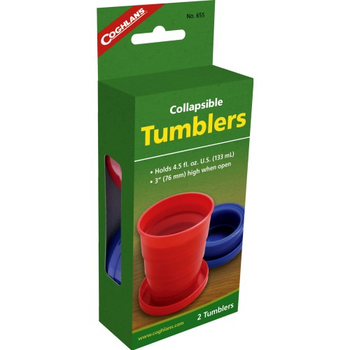 Coghlan's Collapsible Tumblers (Pack of 2) (Coghlans 655)