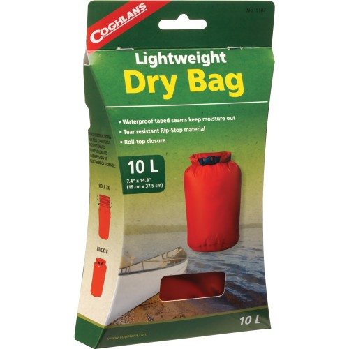 Coghlan's Lightweight Dry Bag Small (10 L) (Coghlan's 1107)