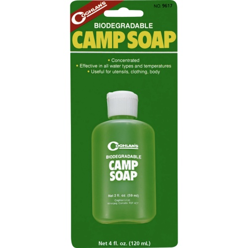 Coghlan's Biodegradable Camp Soap (120 ml) (Coghlan's 9617)