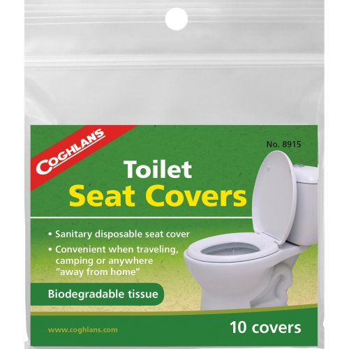 Coghlan's Toilet Seat Covers (Pack of 10) (Coghlan's 8915)