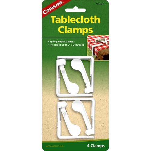 Coghlan's Tablecloth Clamps (Pack of 4) (Coghlan's 9211)