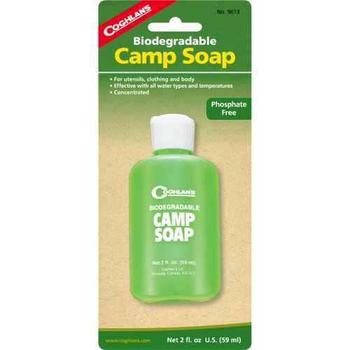 Coghlan's Biodegradable Camp Soap (60 ml) (Coghlan's 9613)