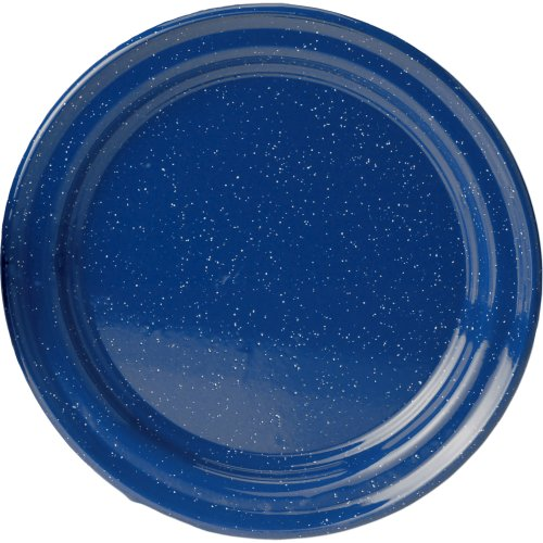 GSI Outdoors Enamelware Plate (26 cm) - Blue (GSI Outdoors 11526)