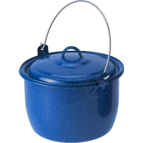 GSI Outdoors Enamelware Cooking Pot - Blue (2800 ml) (GSI 18018)