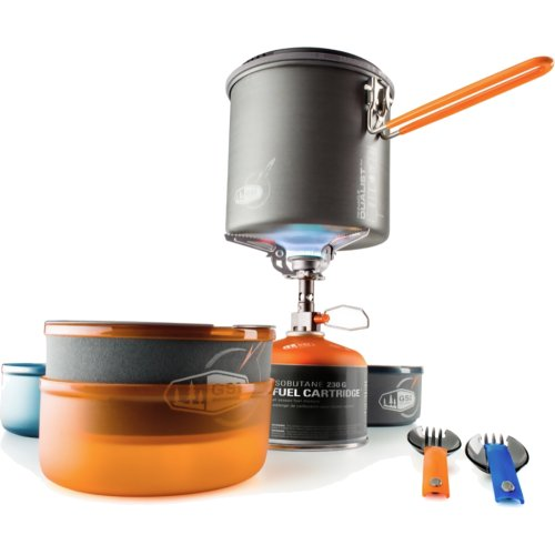 GSI Outdoors Pinnacle Dualist Complete Cookset and Stove (GSI 50150)