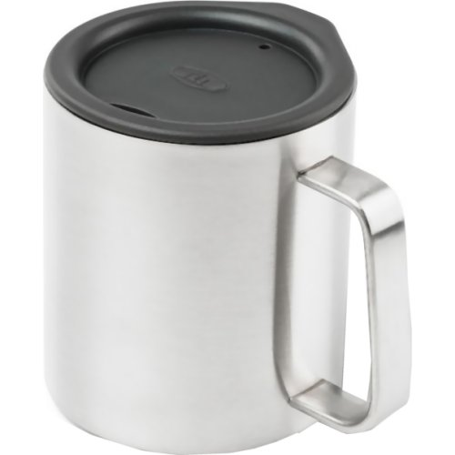 GSI Outdoors Glacier Stainless Camp Cup - Silver (300 ml) (GSI 63210)