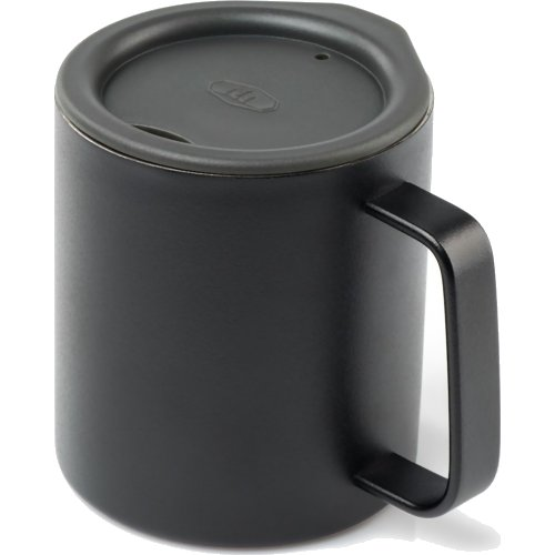 GSI Outdoors Glacier Stainless Camp Cup II - Black (300 ml) (GSI 63215)