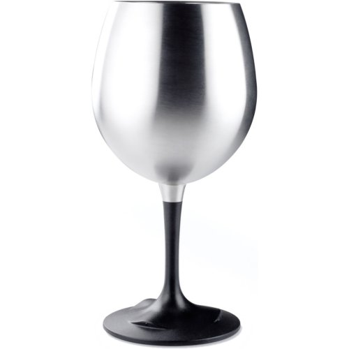 GSI Outdoors Glacier Stainless Steel Nesting Red Wine Glass (GSI 63310)