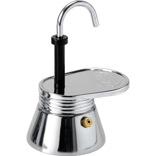 GSI Outdoors Glacier Stainless Steel 1 Cup Mini Espresso Maker (GSI 65101)