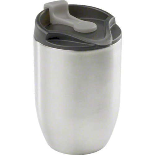 GSI Outdoors Glacier Stainless Doppio Commuter Mug - Silver (190 ml) (GSI Outdoors 65130)