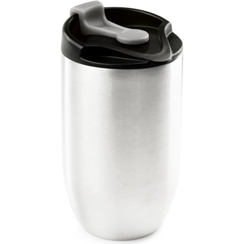 GSI Outdoors Glacier Stainless Doppio Commuter Mug - Silver (237 ml) (GSI Outdoors 65150)