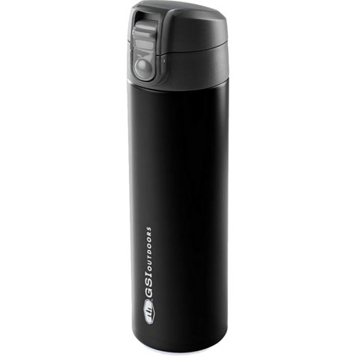 GSI Outdoors Microlite 500 Flip Vacuum Bottle - 500 ml (Black) (GSI Outdoors 67115)