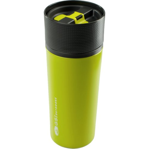 GSI Outdoors Glacier Stainless Commuter Mug - Green (503 ml) (GSI Outdoors 67313)