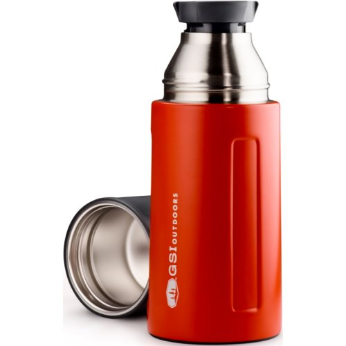 GSI Outdoors Glacier Stainless Vacuum Bottle - Red (500 ml) (GSI Outdoors 67451)