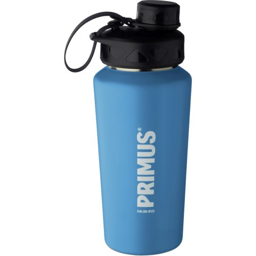 Primus TrailBottle Stainless Steel Water Bottle - 600 ml (Powder Coated Blue) (Primus 740160)