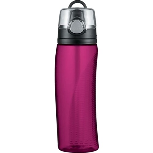 Thermos Intak Hydration Bottle with Meter - Magenta (710 ml) (Thermos 010948)
