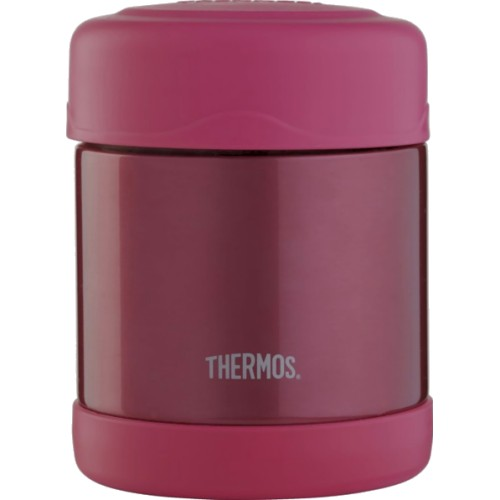 Thermos FUNtainer Stainless Steel Food Jar - Pink (290 ml) (Thermos 056895)