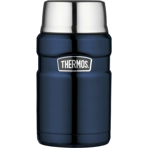 Thermos Stainless Steel King Food Flask - Midnight Blue (710 ml) (Thermos 101423)